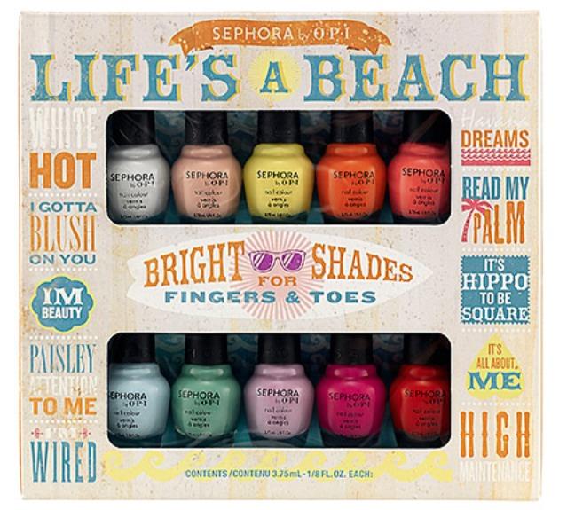 MANICURE MONDAYS: Life\'s A Beach Mini Nail Polish Set –