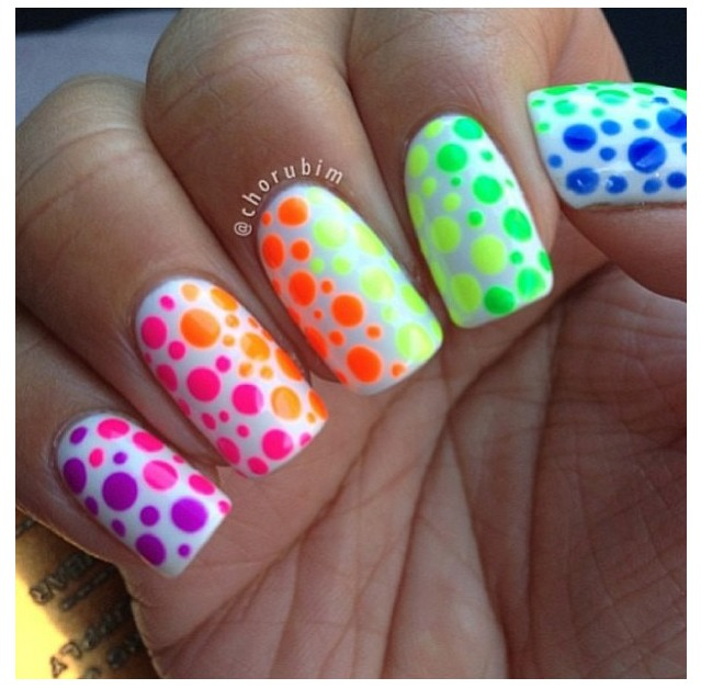 Manicure Mondays Polka Dot Nail Designs