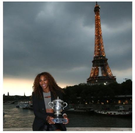 Serena Williams Paris2