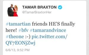 Tamar Tweet