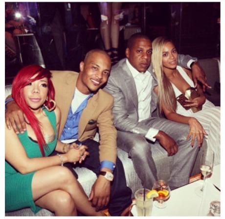 Tiny, T.I, Jay-Z, Beyonce
